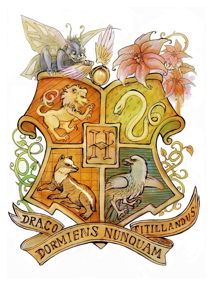 Les quatres maisons Harry Potter Pinterest Harry potter