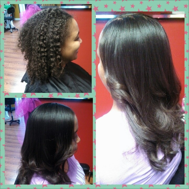 Before & After Keratin Treatments G G's House of Beauty