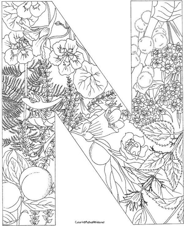 Pin by Harma Postma on Coloring pages Alphabeth