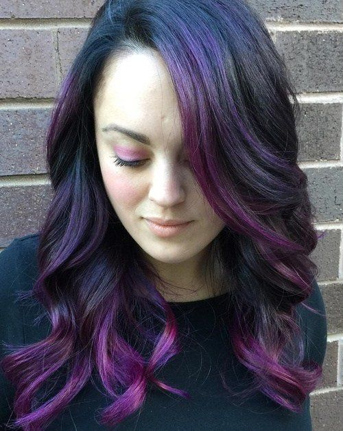 Best 25 Brown To Purple Ombre Ideas Only On Pinterest