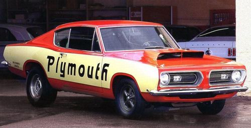 This Is The 383 67 Plymouth Barracuda That Became The Test