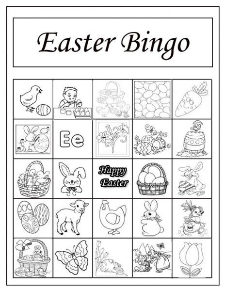 17 Best Images About Easter Bingo