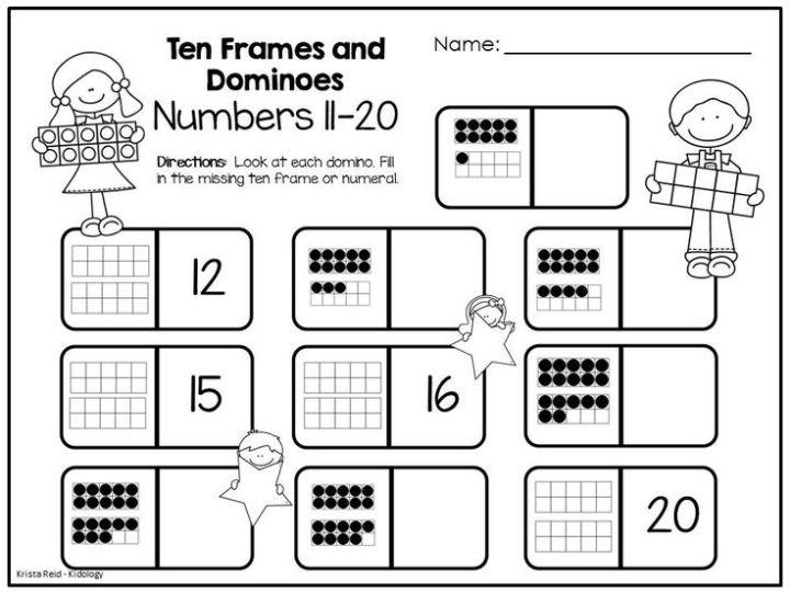 Ten Frame Math Activities For Kindergarten | Frameswall.co