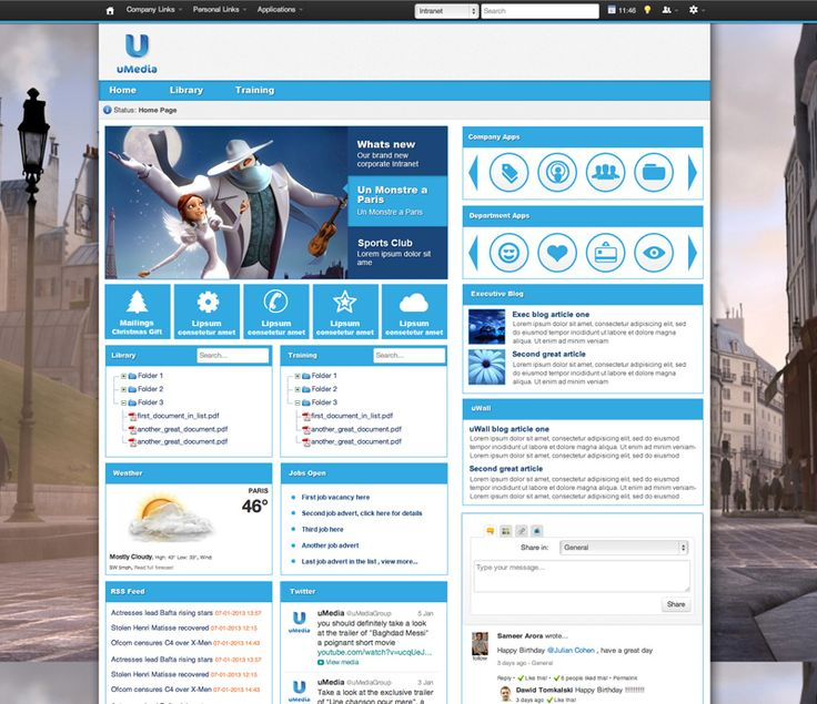 Intranet Portal Templates On Your Intranet Want To Learn More About