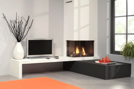 Corner Gas Fireplace Livemodern Your Best Modern Home