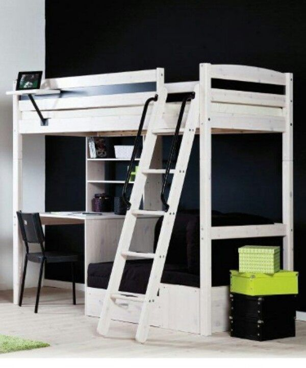 White Stora Loft Bed From Ikea Loft Bed Ideas