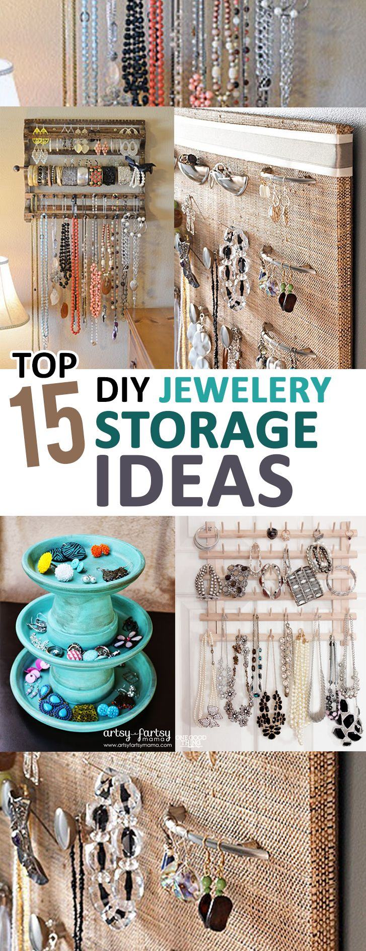 I thought my jewelry box was doomed until I saw these amazing DIY storage ideas…you have to try some of them too!