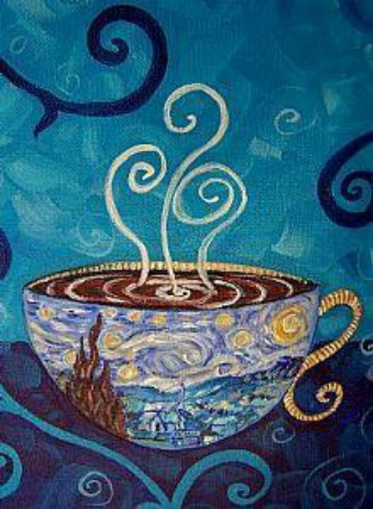 Van Gogh and coffee best mix ever Quotes Pinterest