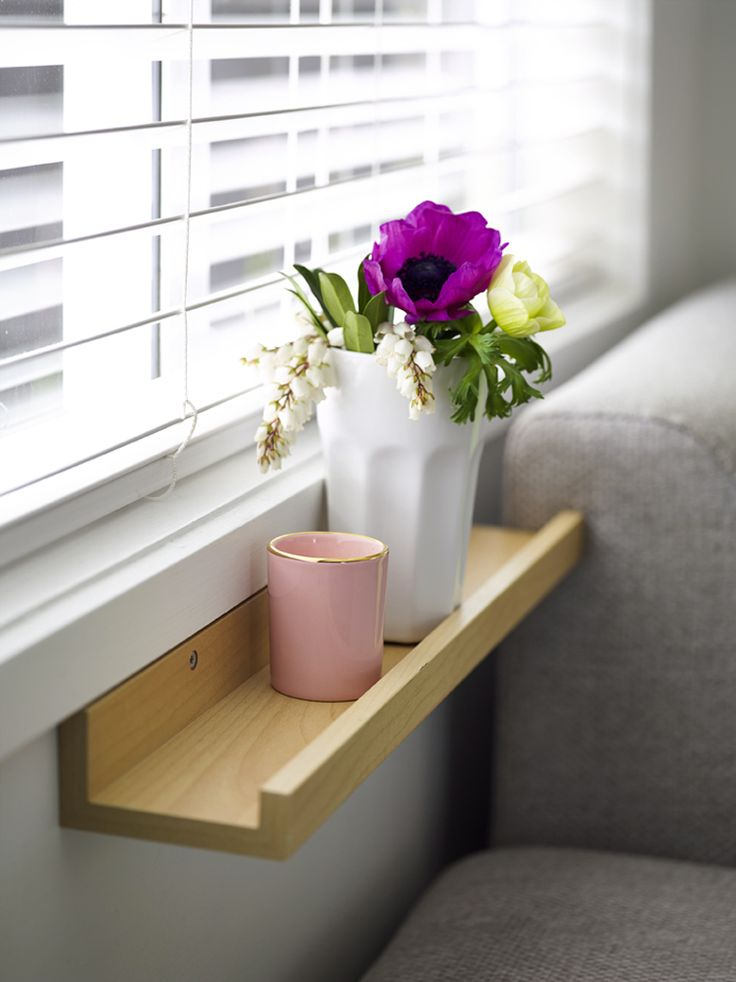 DIY use picture shelf as window shelf – Made From Scratchs Your Home and Garden Home Tour