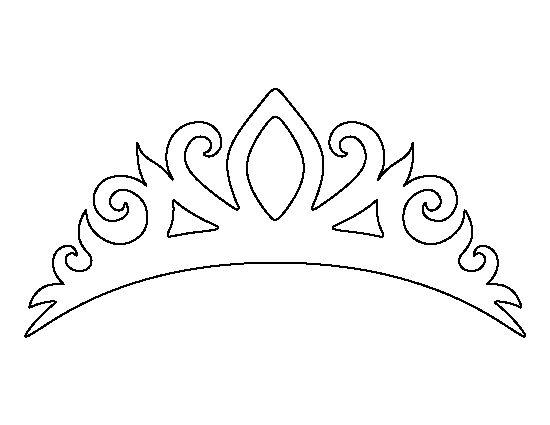 Free Printable Crown Template Princess Crowns Crown Printable