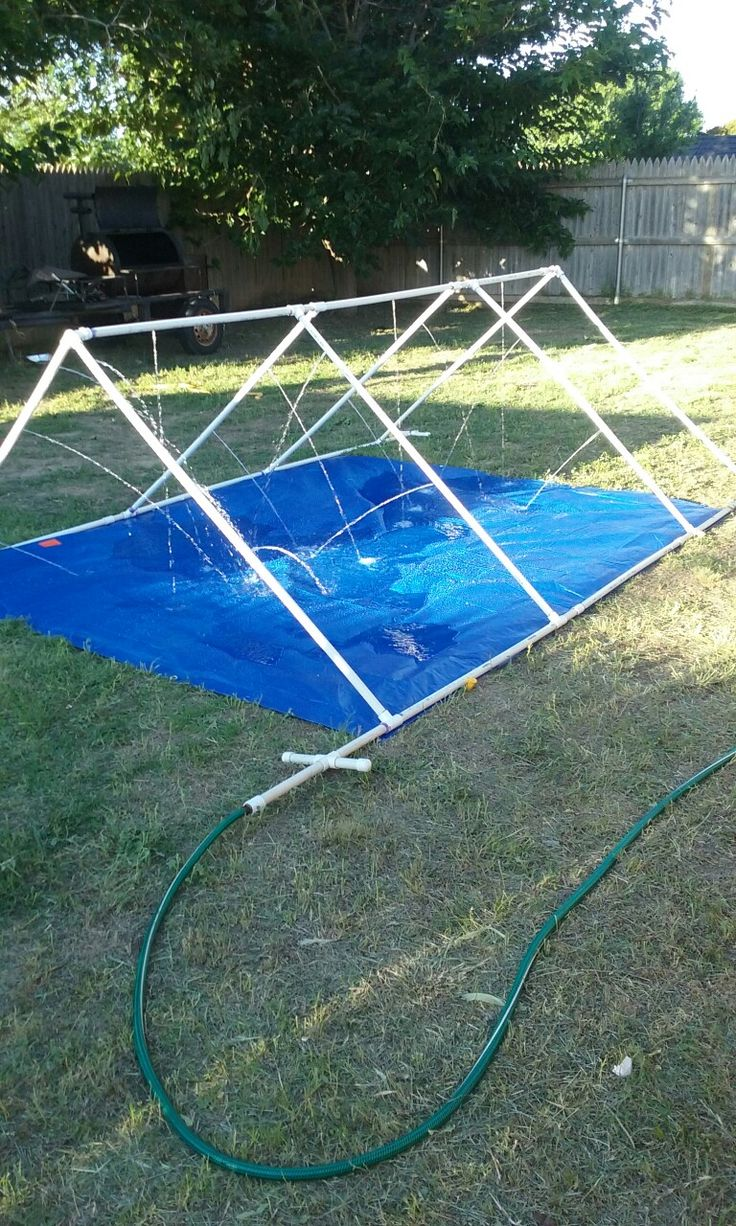 Pvc Water Sprinklerslip N Slide Projects Pinterest