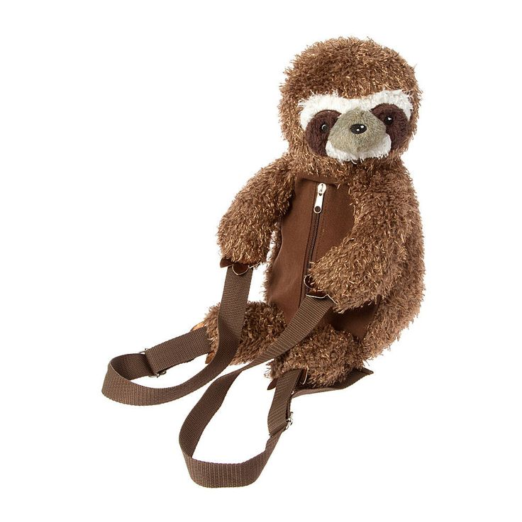 Plush Sloth Backpack Claires Treat Yoself