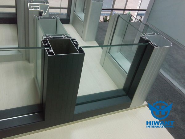 Aluminium Profile For Glass Partitions And Aluminium Alloy