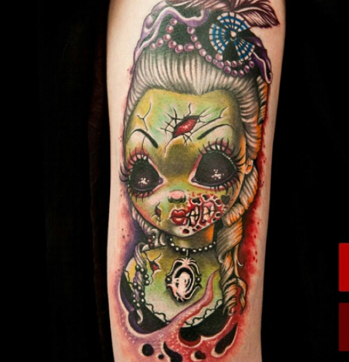 New age Frankenstein cute Tattoo Pinterest New age
