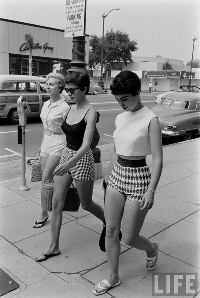 timeless summer style. all of these would be totally wearable today. #vintage #l