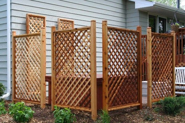 Metal Garden Privacy Screen Or Trellis Click Photo For Larger View Page 2 Of 2 Garden