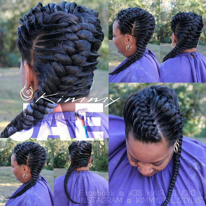 Best 25 Invisible Braids Ideas On Pinterest Kanekalon