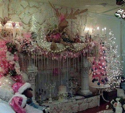430 Best Christmas Shabby Chic Images On Pinterest