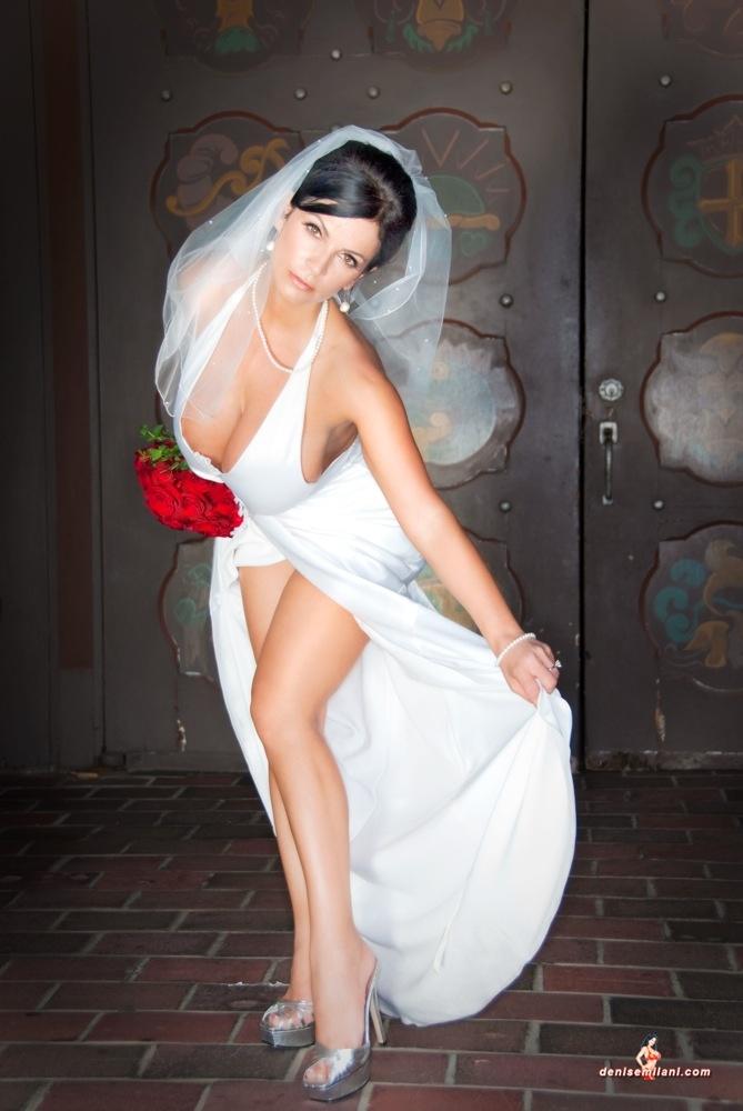 Denise Milani Beautiful Ladies Pinterest Wedding