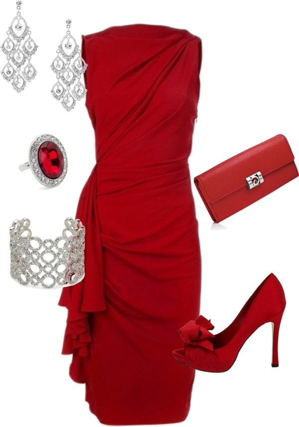 """paint the town red"" by teresajohnson-1 on Polyvore LOVE LOVE LOVE AND IT IS RED!!!!!"