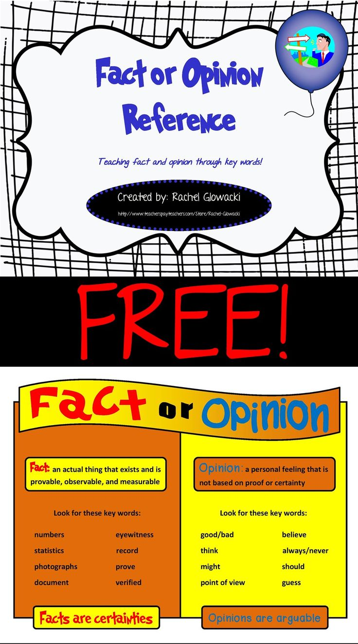 17 Images About Fact Vs Opinion