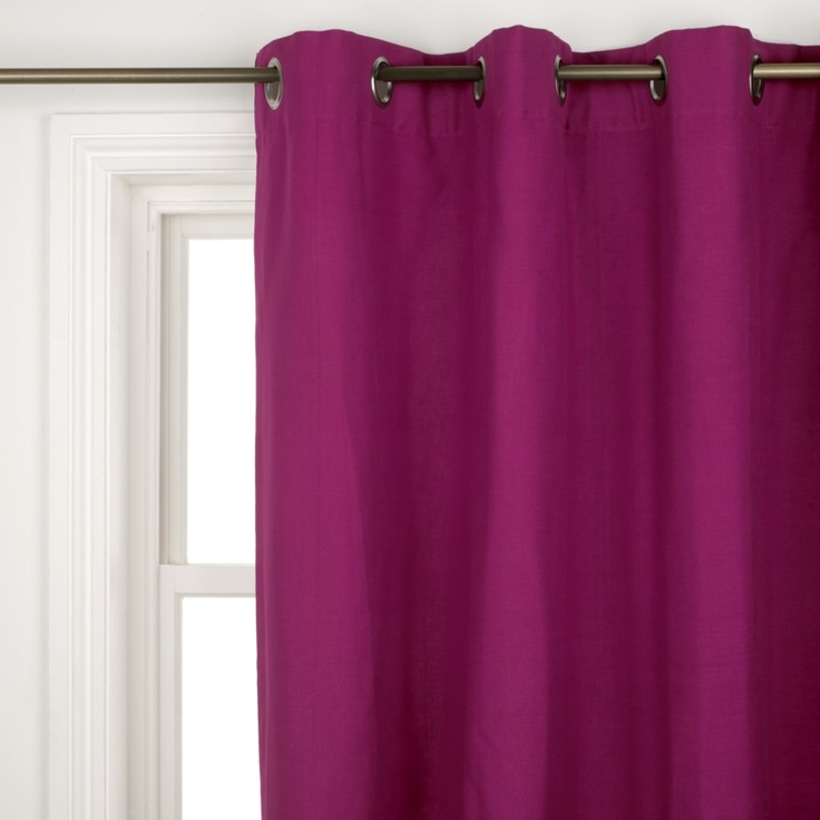 Magenta Curtains If Only They Were Real Or A Really