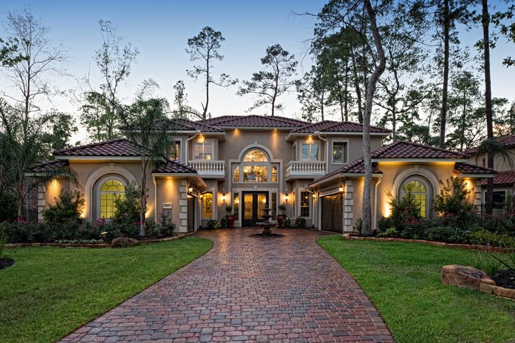 Toll Brothers The McKinley Mediterranean home