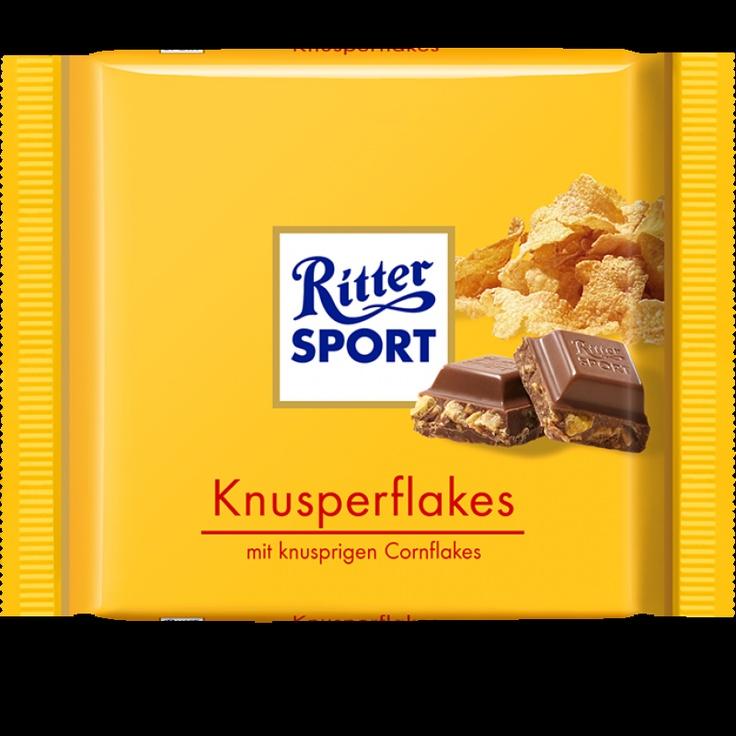 RITTER SPORT Knusperflakes Schokolade Germany Candy bar