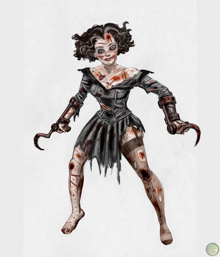 BioShock Splicers Concept Art Video Games Pinterest