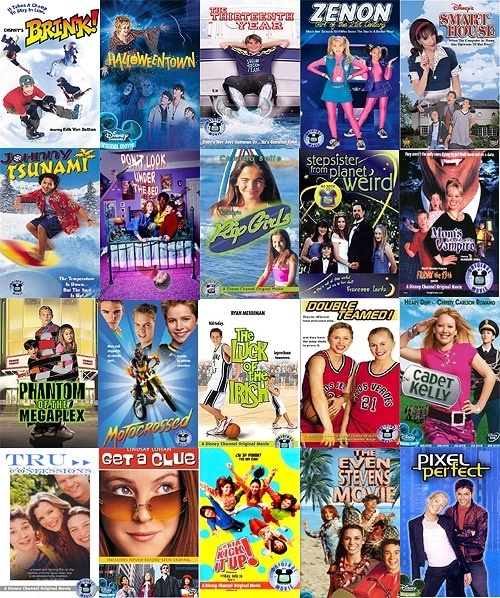 90's early 00's Disney channel movies! mylifeisBECtic