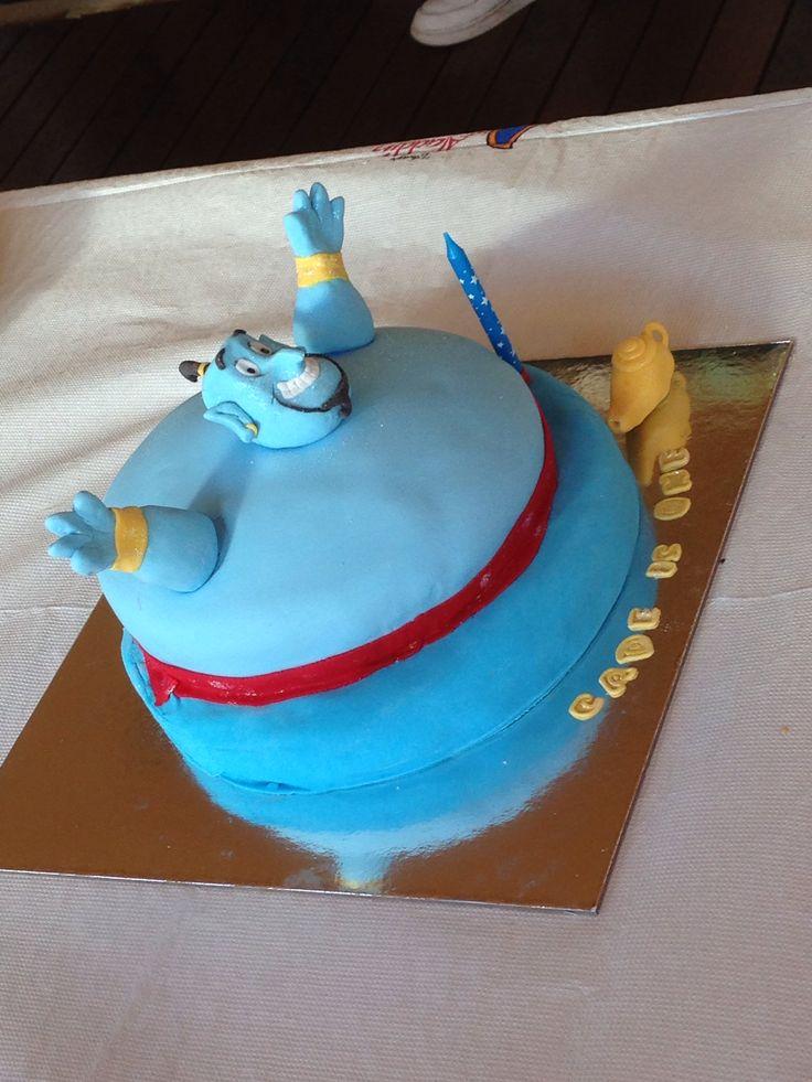 Disney Aladdin Genie Cake Fondant Genie Cakes And