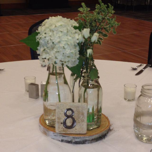 Milk Bottle Centerpieces Wedding Pinterest Bottle