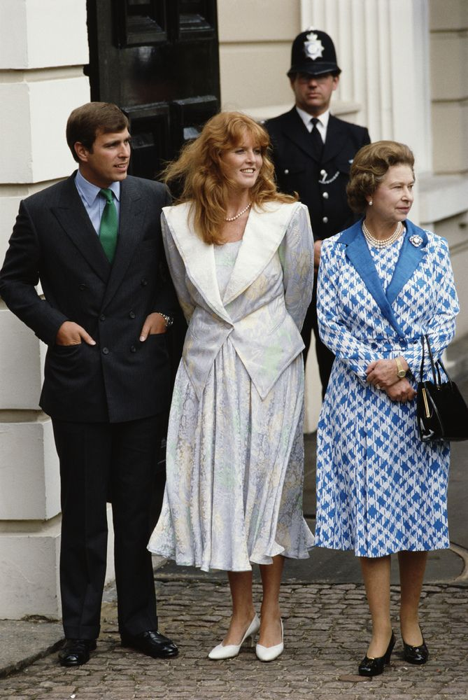 PHOTOS Sarah Ferguson Goes From Princess Diana Sidekick