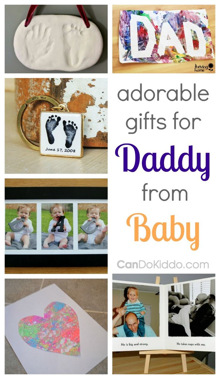 Adorable Gifts For Dad From Baby Father's day, Father