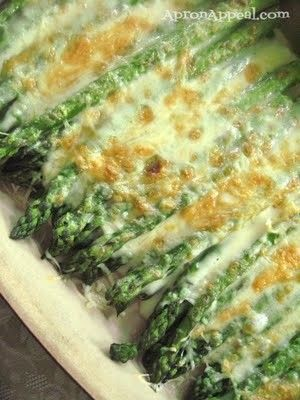 Asparagus w/olive oil, sea salt  parmesan cheese | Learn To Cook