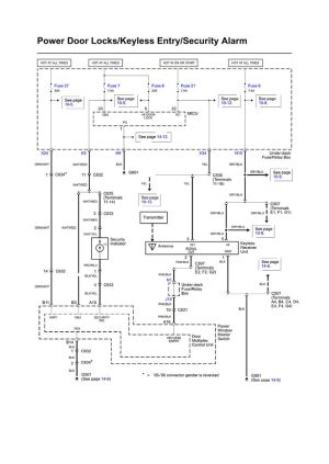85 Chevy Truck Wiring Diagram | Fig POWER DOOR LOCKS