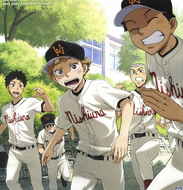 Tags Anime, School, Summer, Ookiku Furikabutte, Five