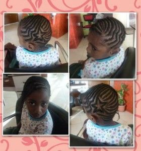 Cornrows With Star Design Braid Styles Pinterest Kid