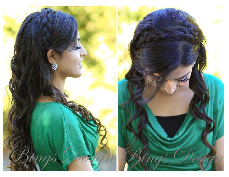 #Braided #hairstyle For Long Hair Www.BingsDesign.com