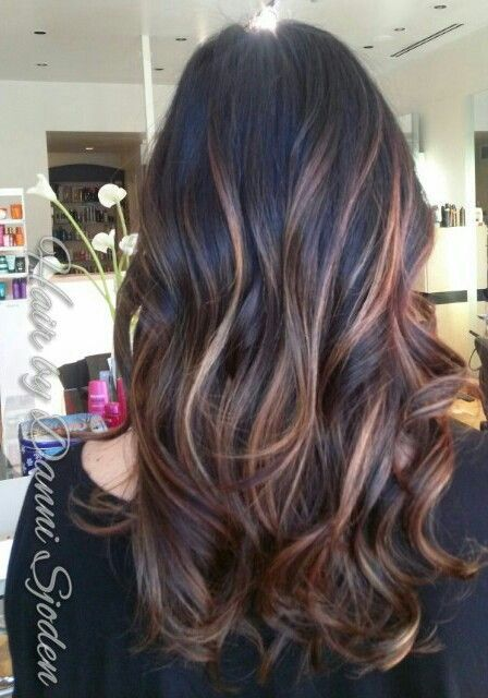 347 Best Images About Balayage For Brunettes On Pinterest