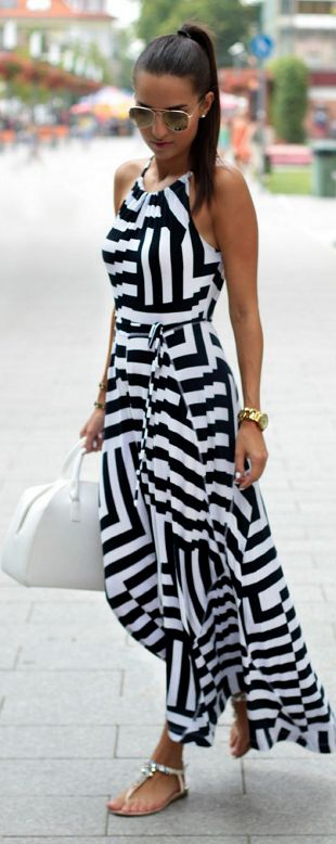 Summer Must Have Maxi Dress by Style and Blog: