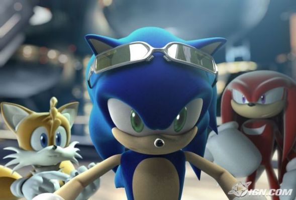 Sonic Riders Video Game Images