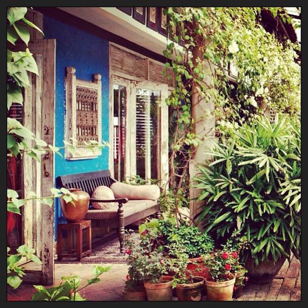Indian Home garden by Design India!garden Padgram