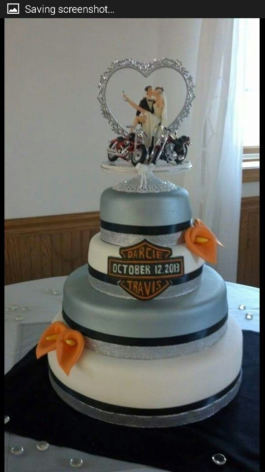 Harley Davidson Wedding Cake Cakes I Ve Done Pinterest