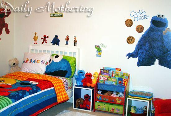 Sesame Street Kids Room Decor Parker S Pinterest Streets And Wall