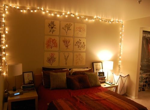 Aesthetic Bedroom Ideas With Fairy Lights Novocom Top