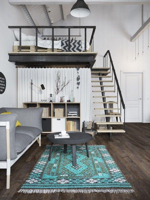 17 Best Ideas About Loft Bedroom Decor On Pinterest Loft