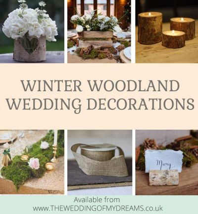 17 Best images about | winter woodland wedding | on ...