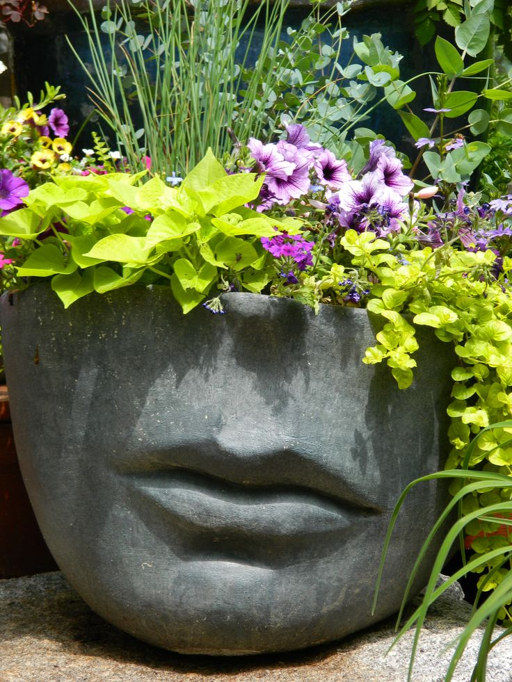 Let's Face It...gardening is fun. Container Gardening