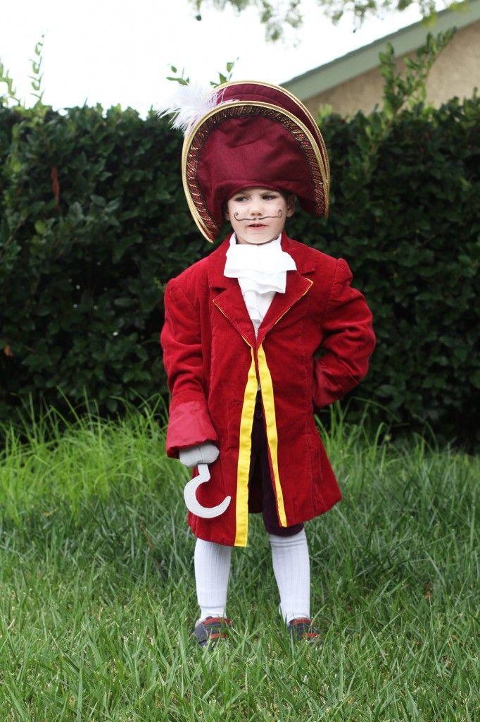 DIY Captain Hook Costume Mom Crafts Pinterest DIY